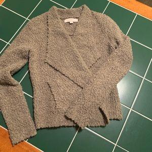 Loft Cream Wool Cardigan Sweater
